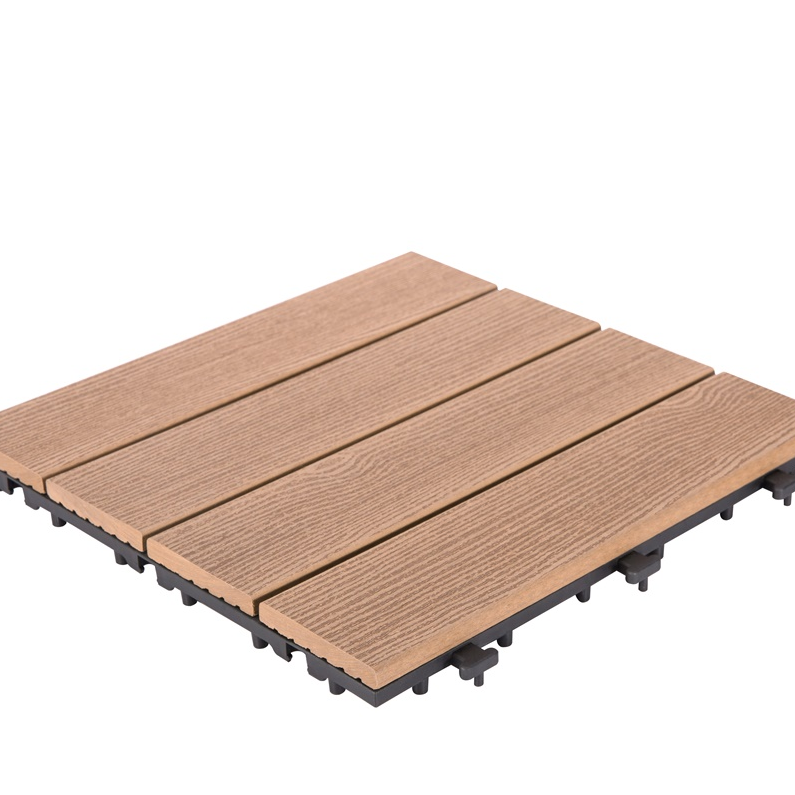 tile floor install composite deck tiles JIABANG