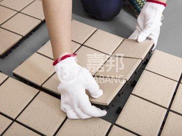 install ceramic deck tile