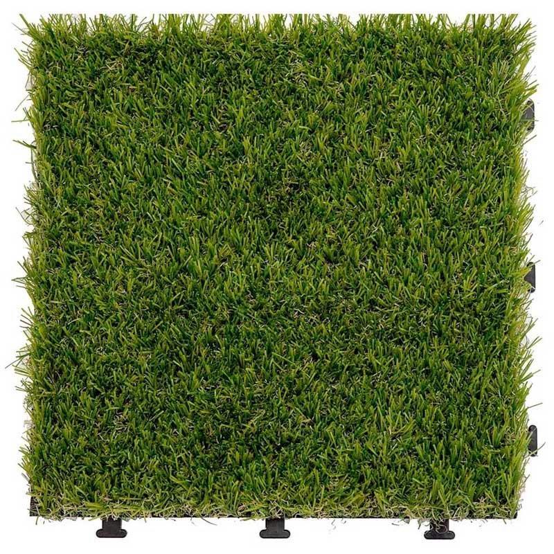 Antibacterial artificial grass deck tiles G015