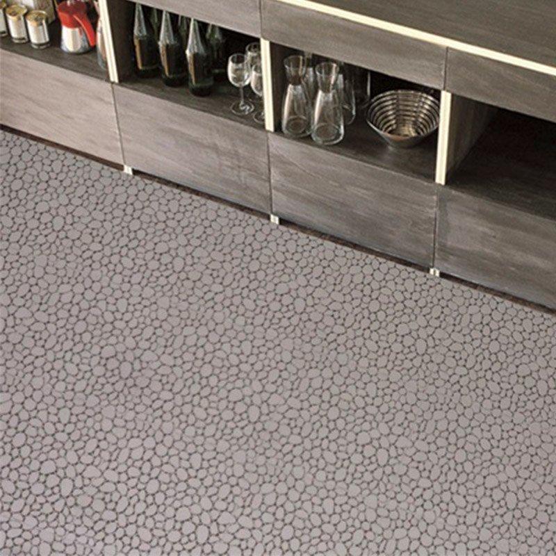 Anti slip kitchen plastic floor mat JBPL3030PB Black