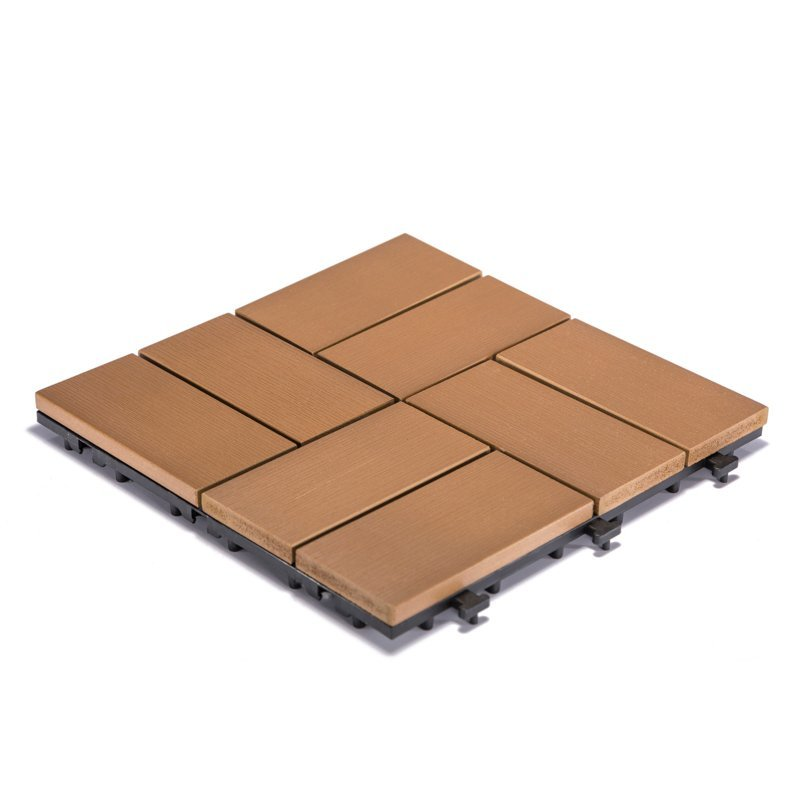 Lightweight PVC floor home deck tile PS8P303012 TKC