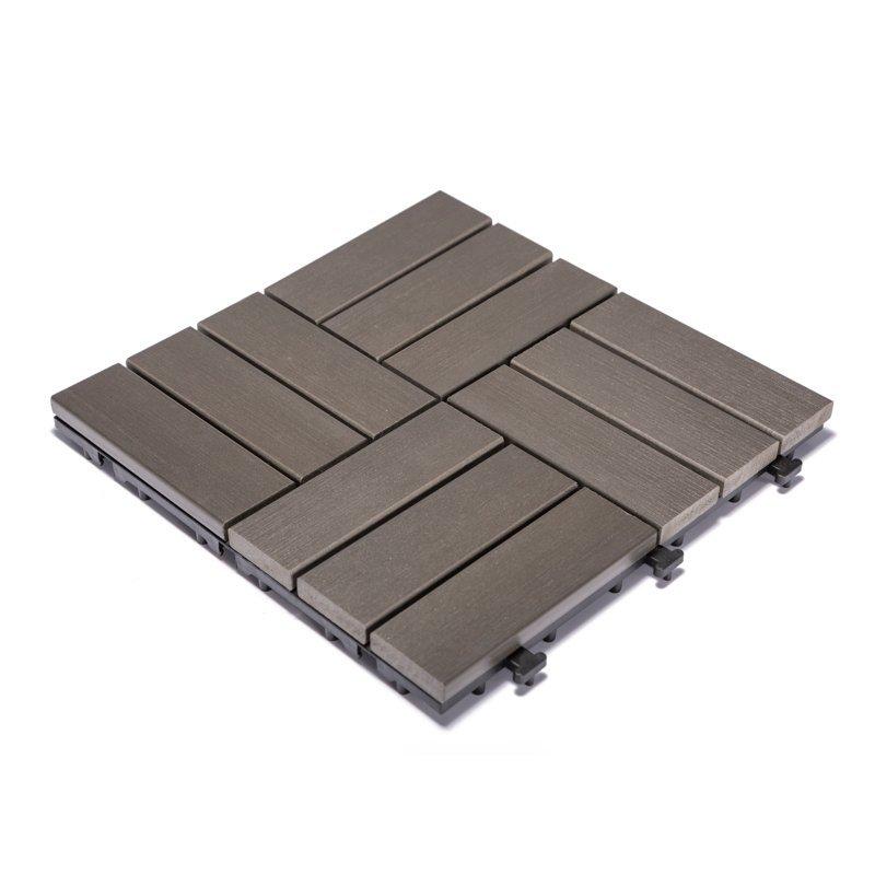 Plastic gazebo decking tile PS12P30312 DGC