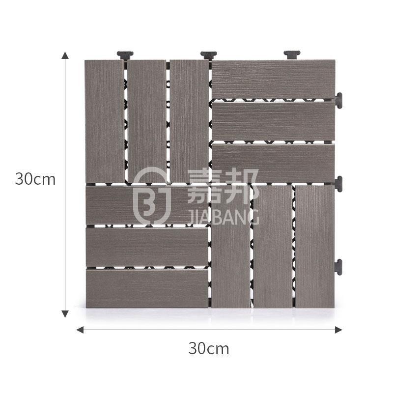 deck plastic decking tiles tile path JIABANG company