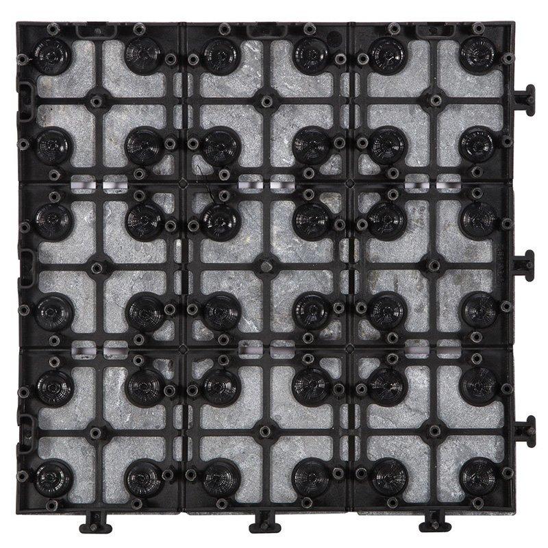 Basement floor interlocking slate tiles JBD002