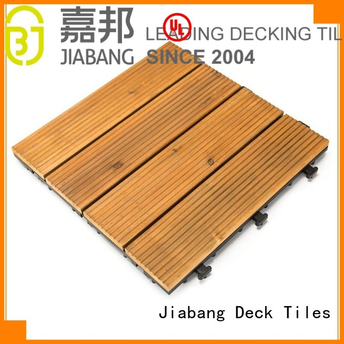 square wooden decking tiles decking solid long Warranty JIABANG