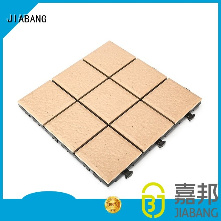 Wholesale porch ceramic garden tiles exhibition JIABANG Brand