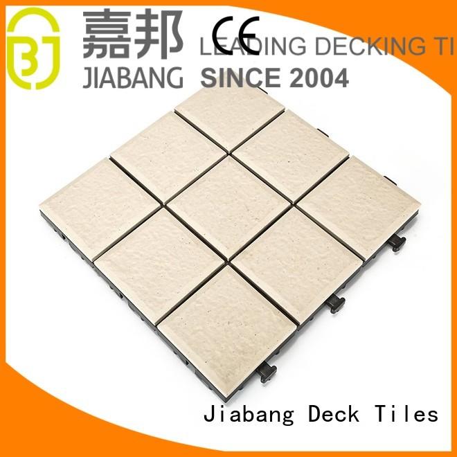 ceramic interlocking tiles porch porcelain stsd JIABANG Brand outdoor ceramic tile