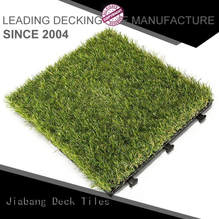 interlocking grass mats path balcony garden grass floor tiles manufacture