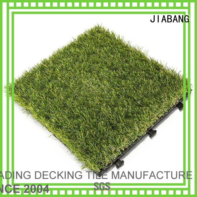 diy grass floor tiles deck JIABANG company