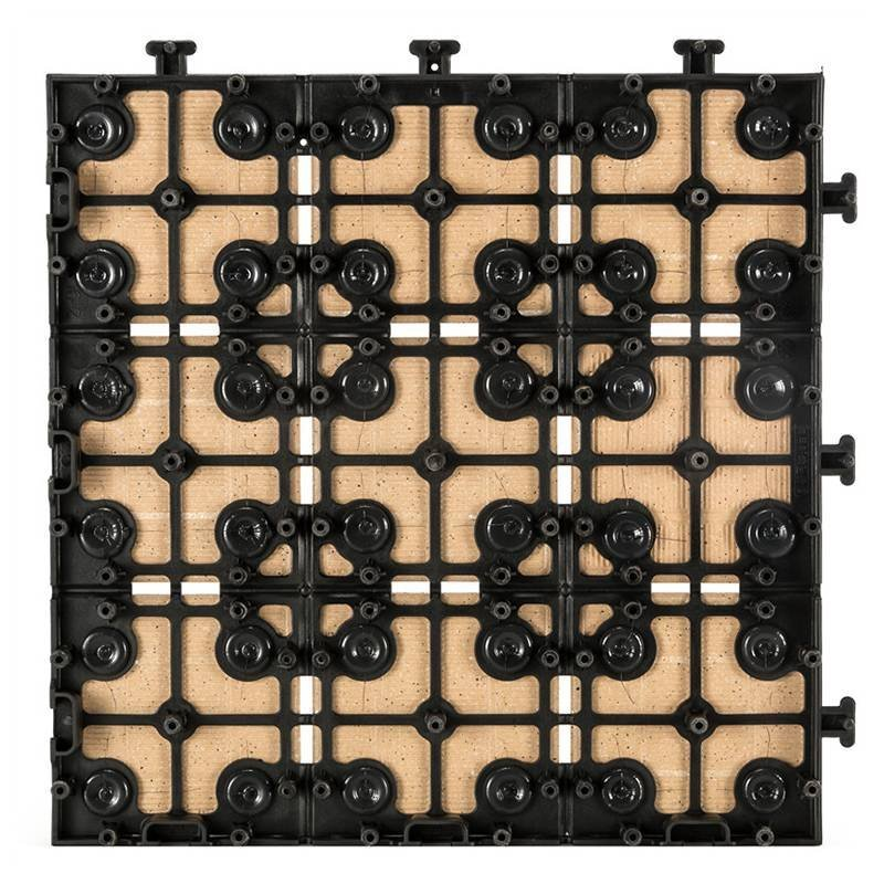 0.8cm ceramic interlocking tiles JB5014B