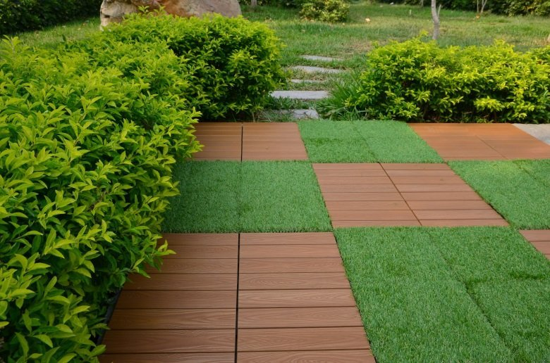 home garden path JIABANG Brand plastic decking tiles