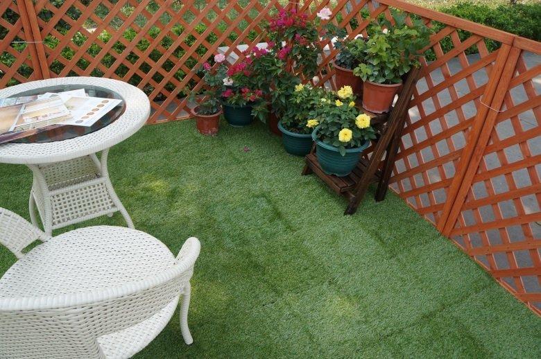 outdoor grass tiles deck garden grass JIABANG Brand company