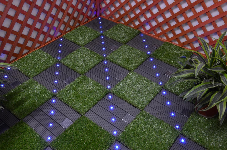 Wholesale light solar light tiles deck JIABANG Brand
