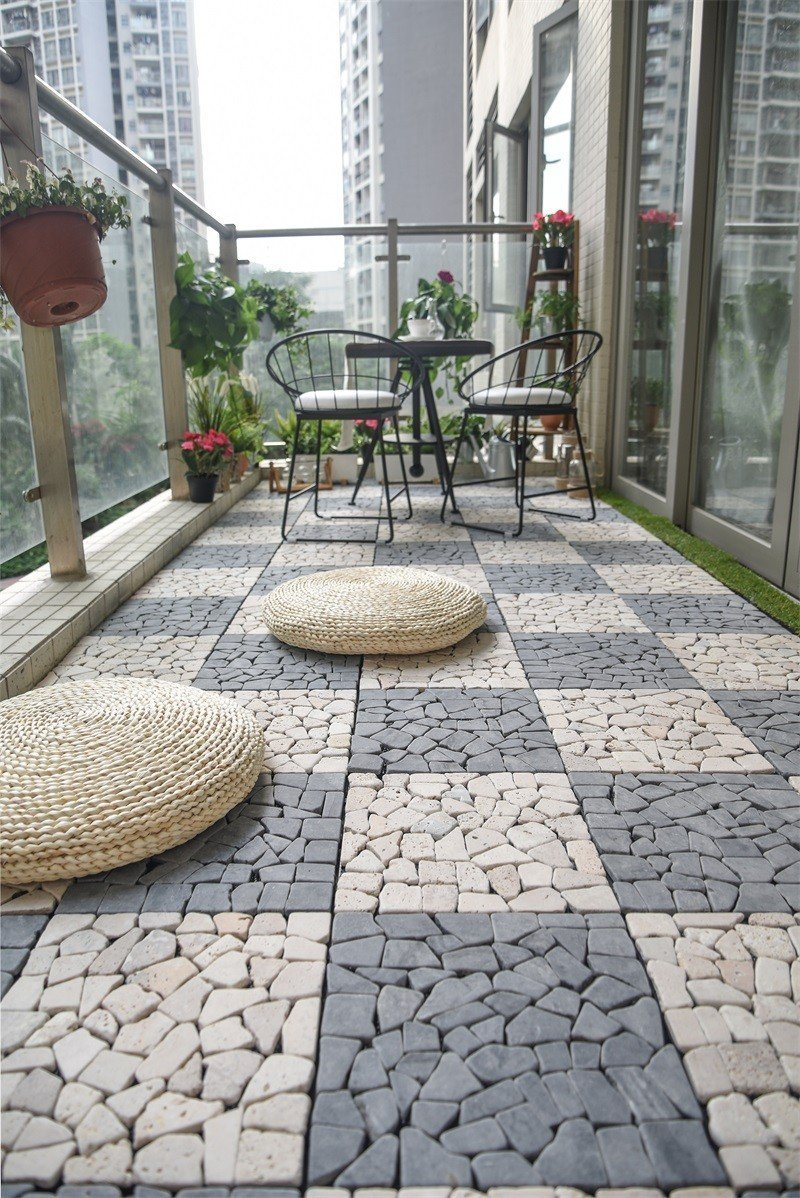 grey outdoor travertine pavers for sale floor JIABANG company
