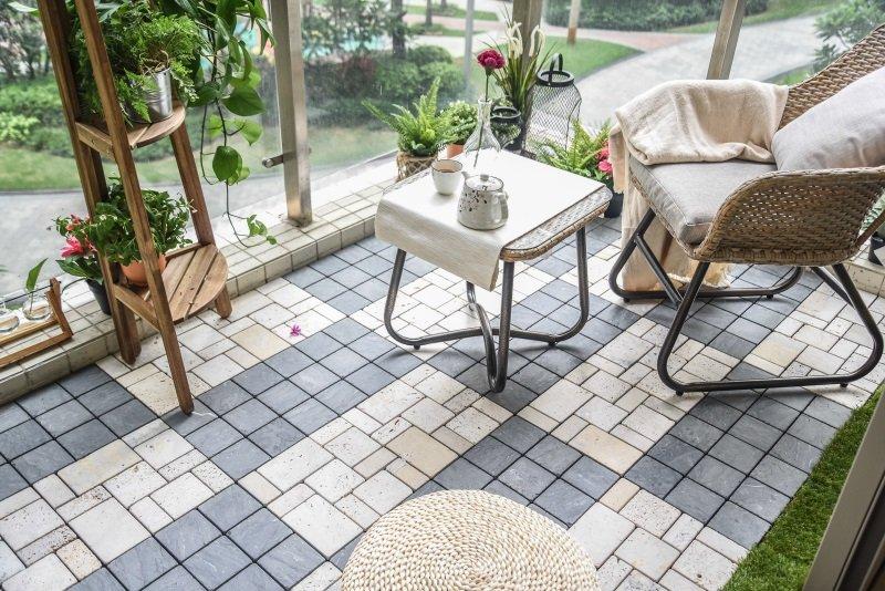 interlock tiles designs