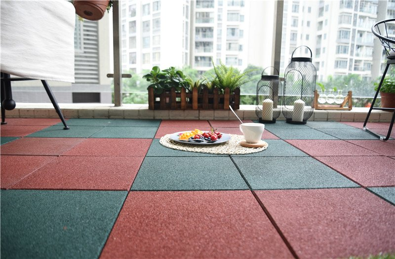circular decking tiles