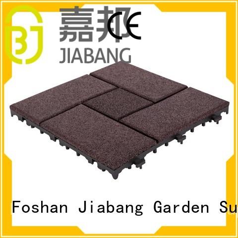 JIABANG Brand porch deck tiles custom rubber mat tiles