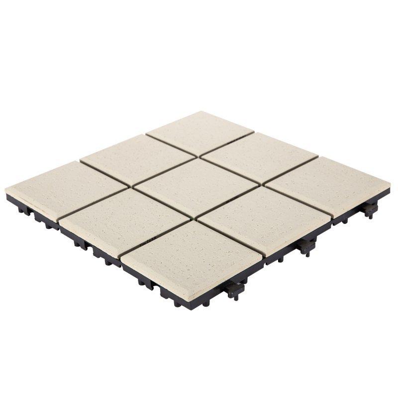 0.8cm ceramic garden deck tiles ST-OW