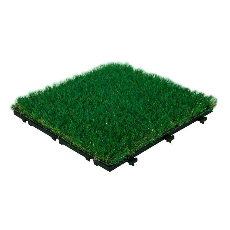 Garden landscape artificial grass deck tiles G004-GREEN