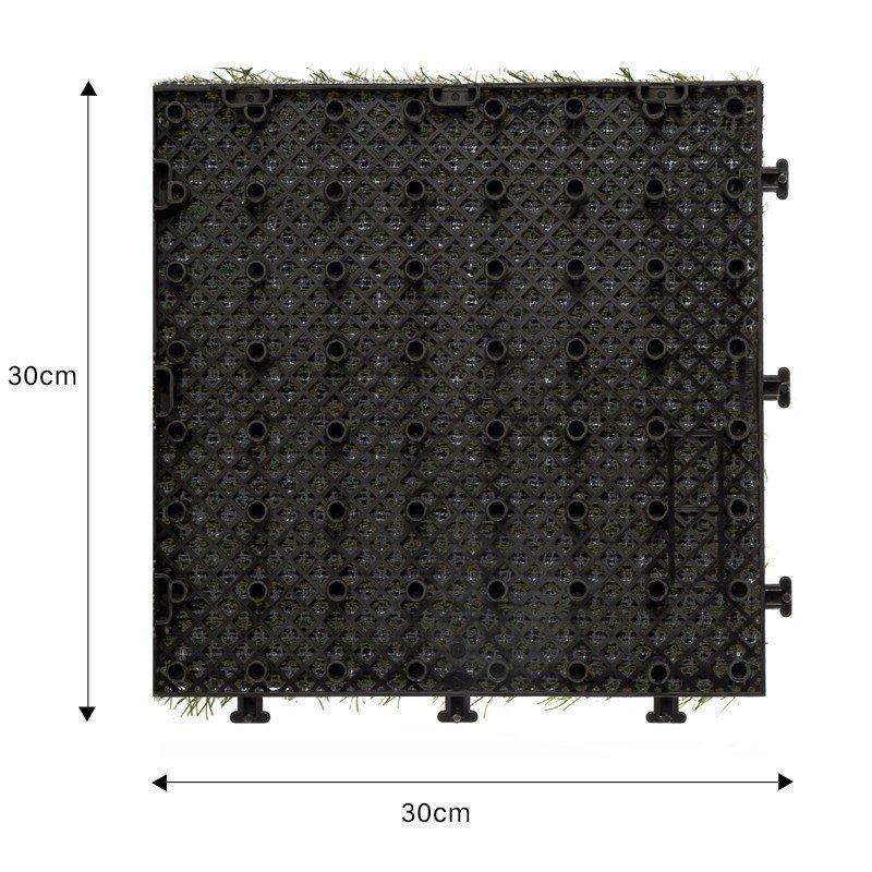 decking tiles base, plastic interlocking tile