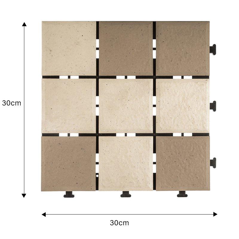 ceramic interlock tile