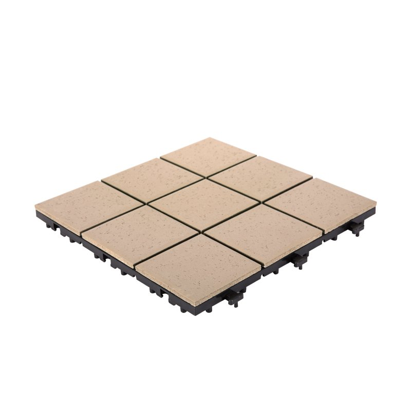0.8cm ceramic office deck tiles ST-SD