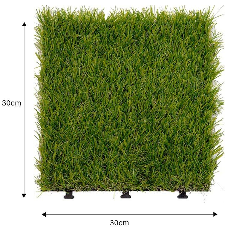 artificial grass deck tile, interlocking floor