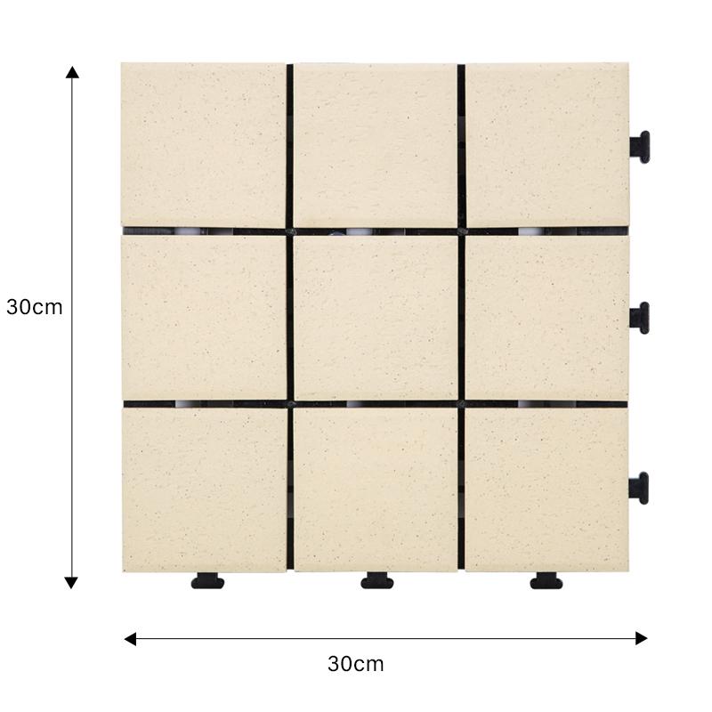 Hot stg ceramic interlocking tiles exterior JIABANG Brand
