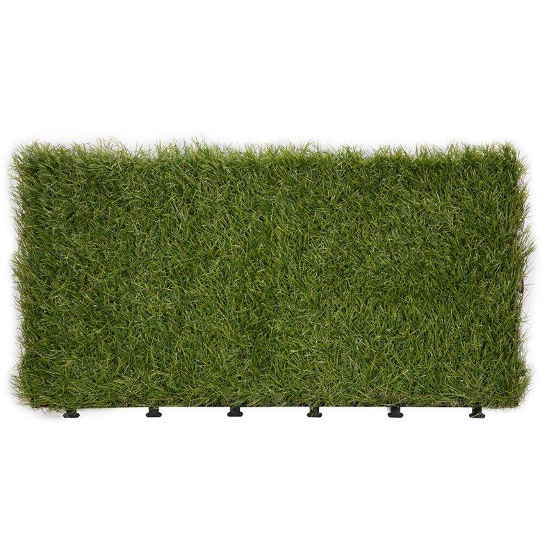 Patio floor artificial grass deck tiles G001-2