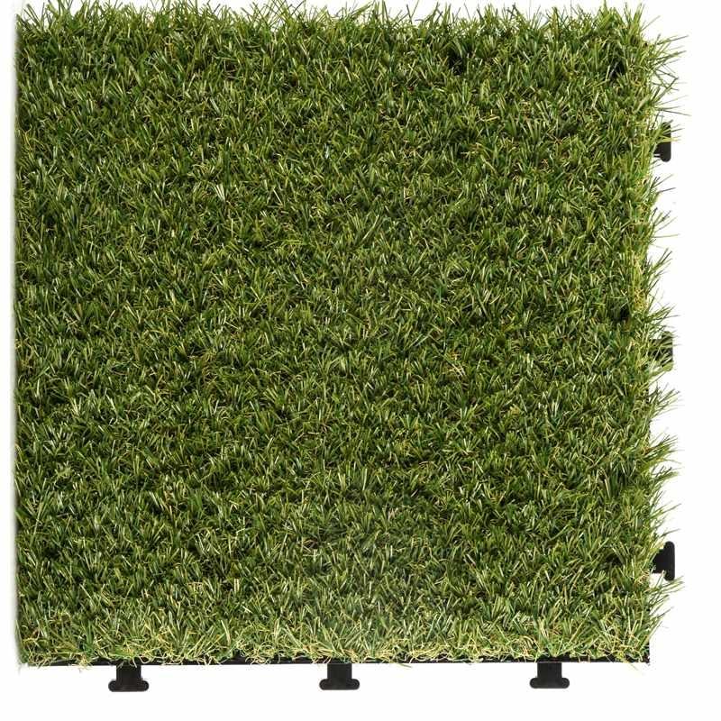 Outdoor floor artificial grass deck tiles G002