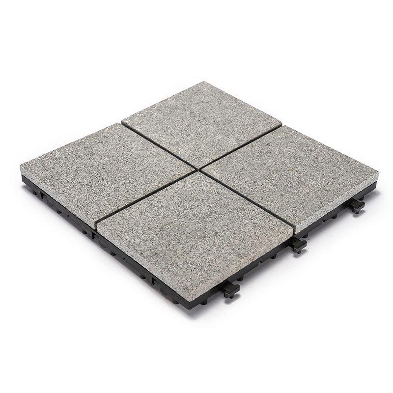 12x12 dark grey color outdoor granite flooring JBB2544