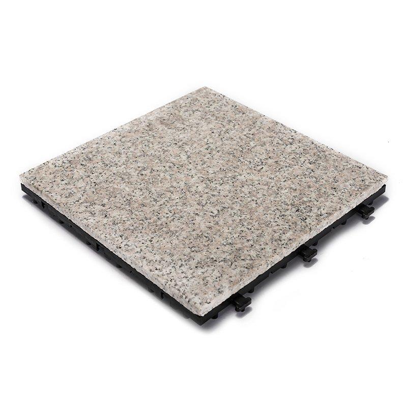 DIY garden room real granite stone floors JBP2361