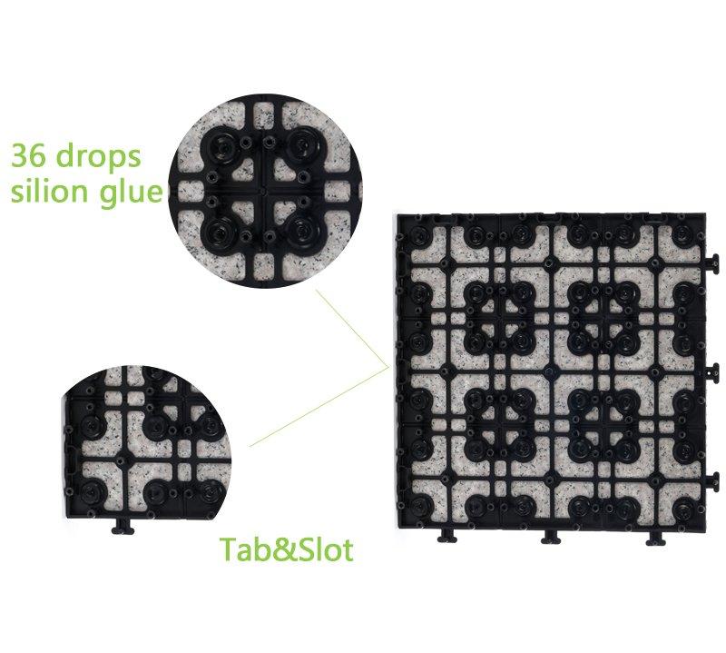deck flooring interlocking