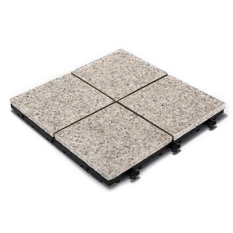 Exterior interlocking stone tile flooring for balcony JBP2364