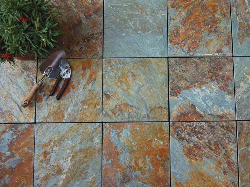 slip waterproofing floors JIABANG Brand outdoor stone deck tiles manufacture