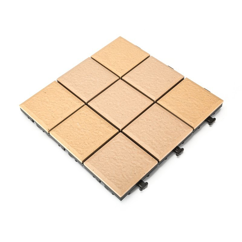 outdoor flooring 1.0cm gazebo deck tile JBH007