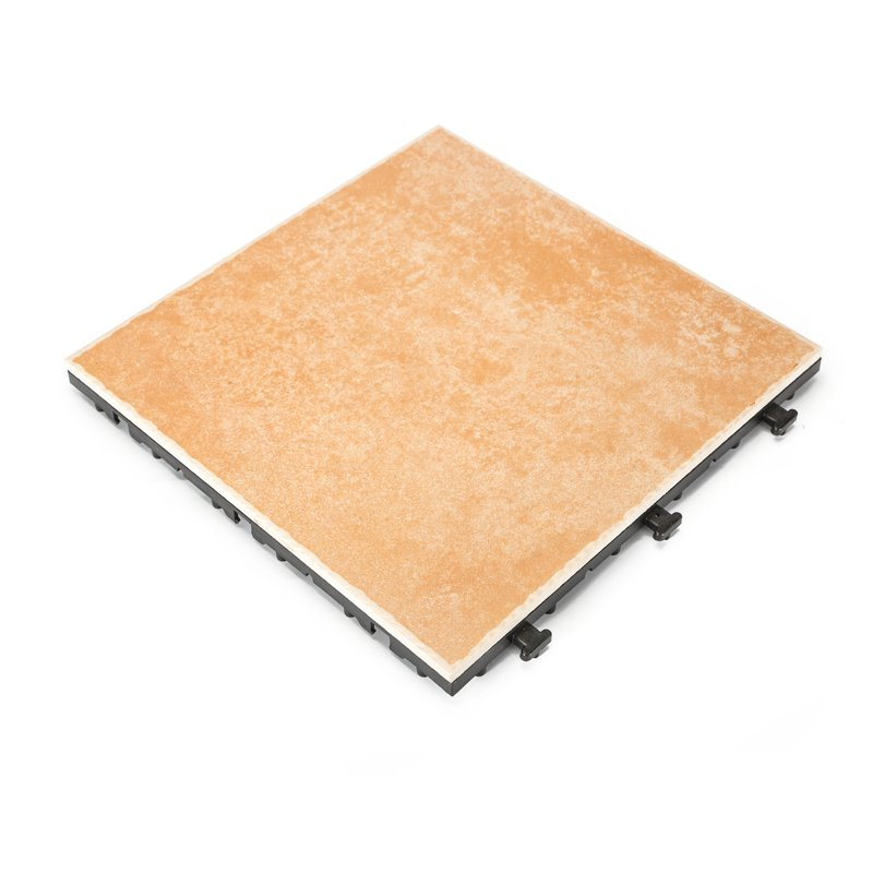 Non slip frost ceramic hotel outdoor decking tiles N041