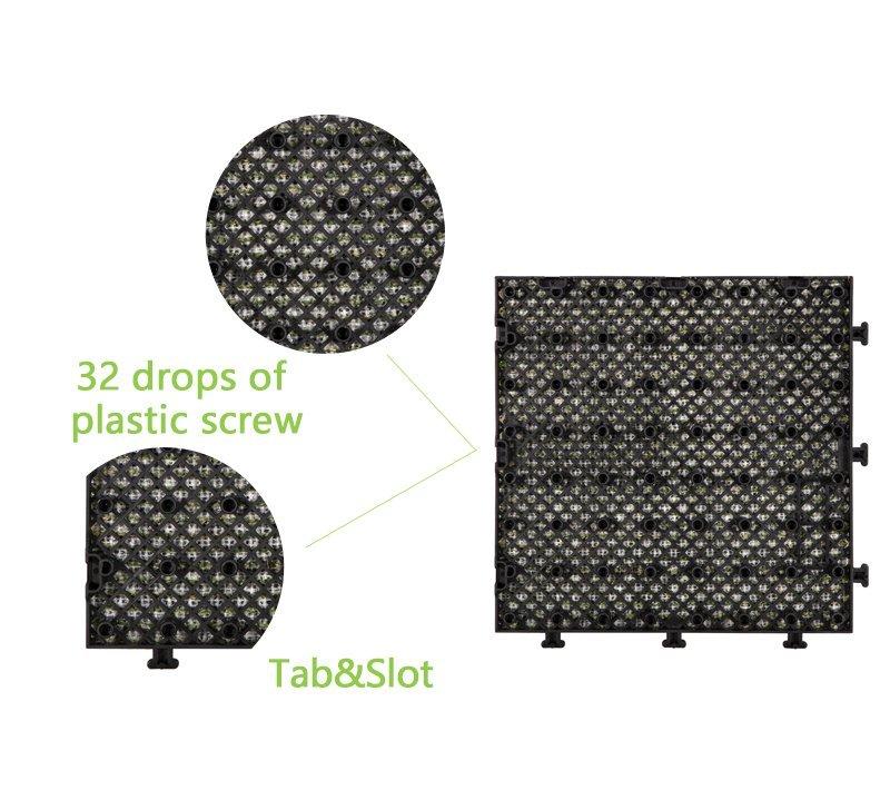 interlocking floor tile