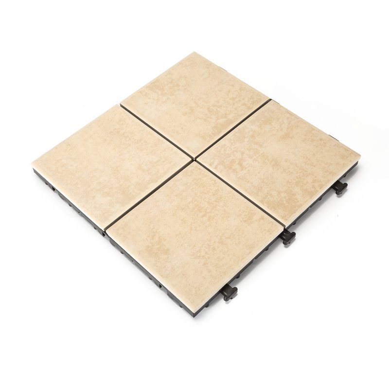 weather resistant frost porcelain patio diy tiles C054
