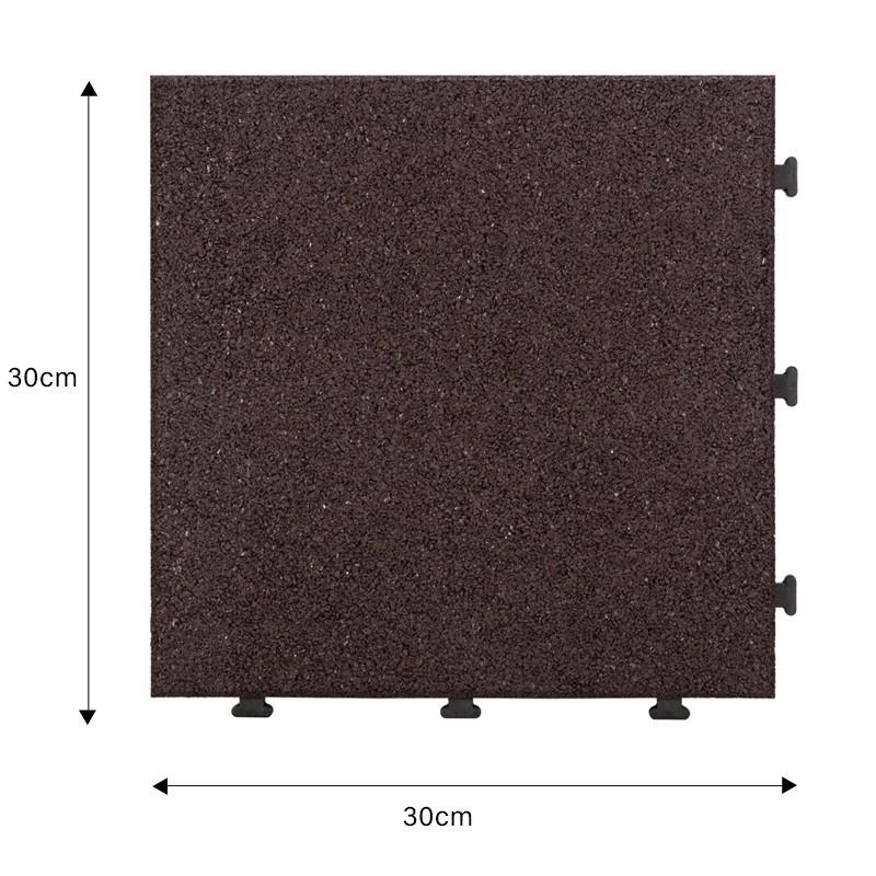 tile floor JIABANG Brand rubber mat tiles