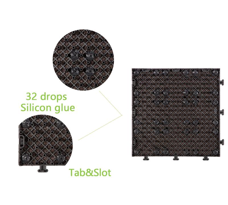 outdoor plastic tiles