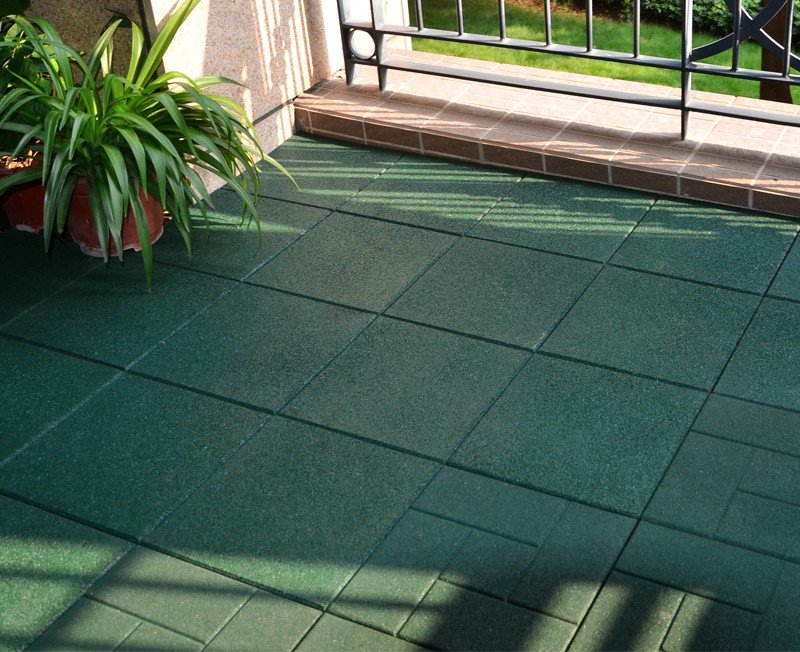 rubber deck tiles