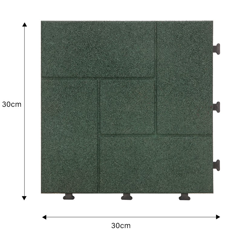 deck tiles over concrete