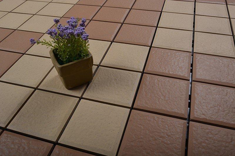 deck tile installation
