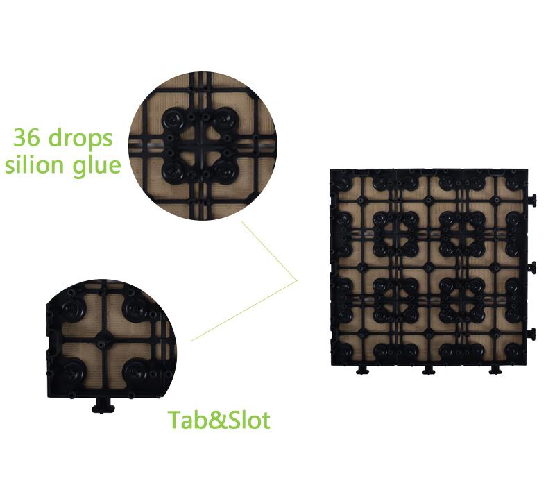 ceramic garden tiles interlocking jj01 JIABANG Brand company