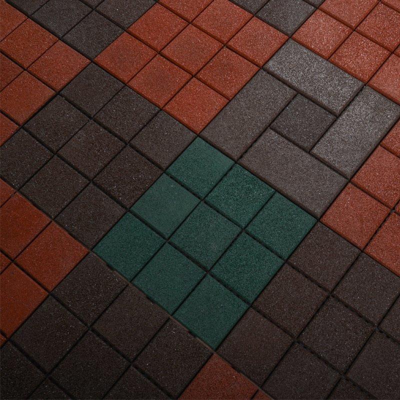 Best Interlocking Outdoor Gymnastics Rubber Decking Tile