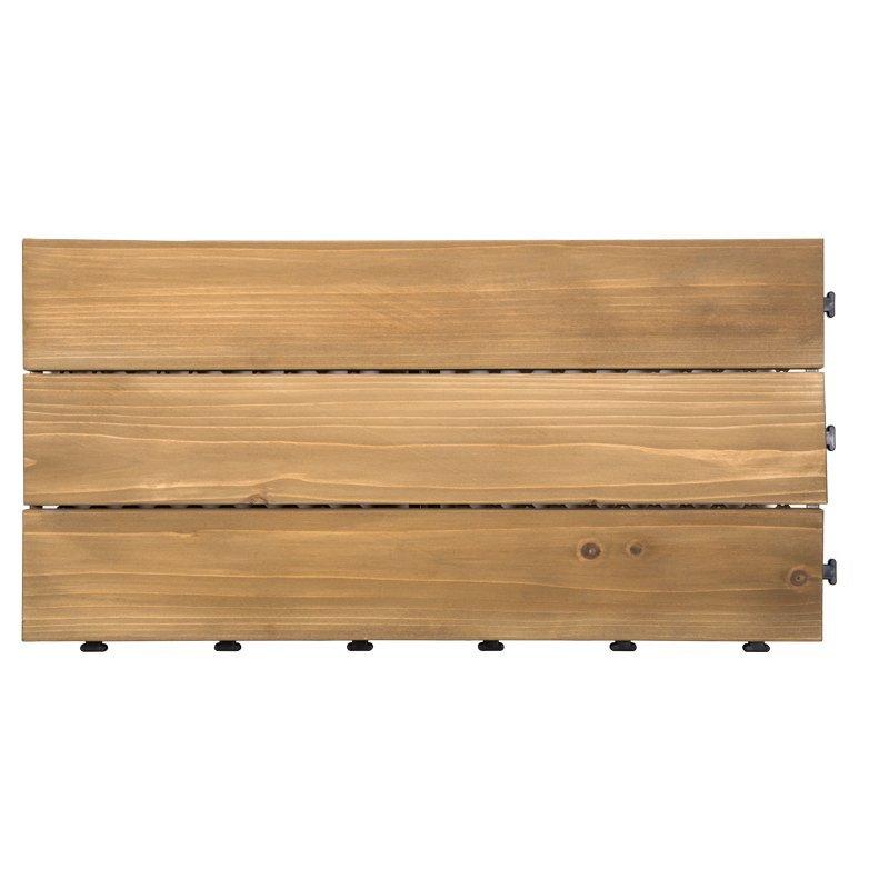 30x60cm fir wooddeck flooring for garden S3P3060PH