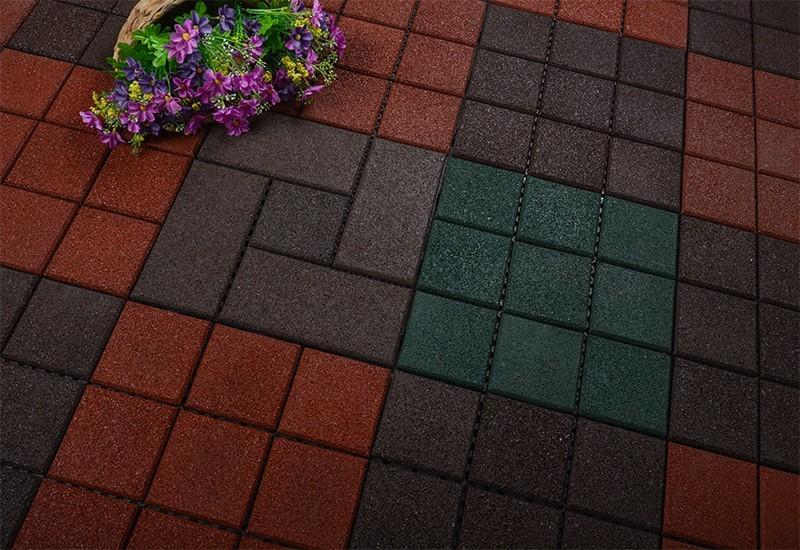 square porch flooring OEM interlocking rubber mats JIABANG