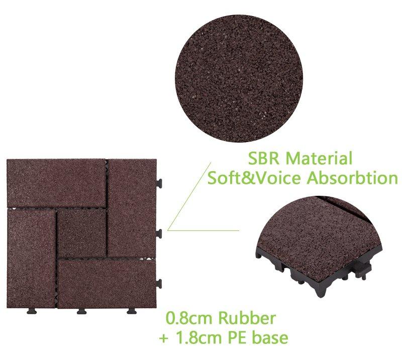 square decking tiles