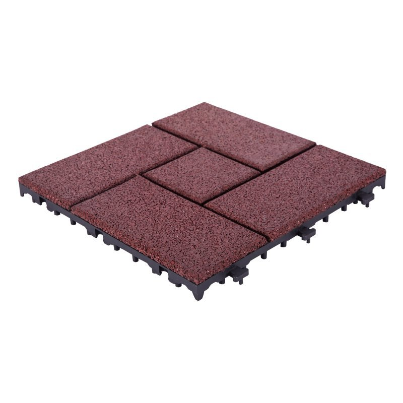 Rubber deck balcony tile XJ-SBR-RD003